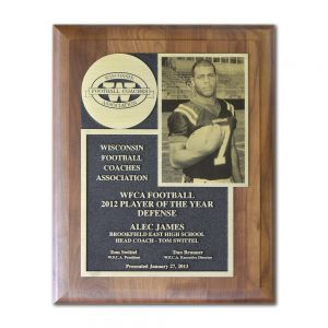 "10.5"" X 13"" 80 Series Tribute Award"