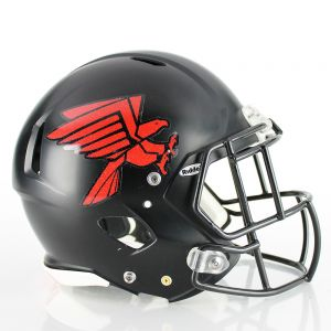 1 Color Metallic Flake Football Helmet Decals