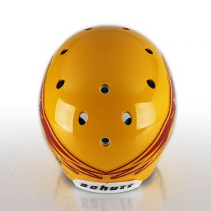 1 Color Wraparound Football Helmet Decals