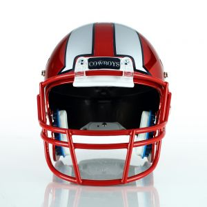 2 Color Football Helmet Decal Set
