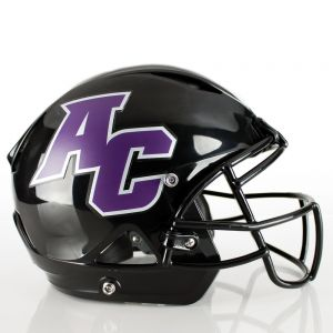 2 Color Matte Finish Football Helmet Decals