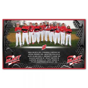 3' X 5' Team Picture Banner
