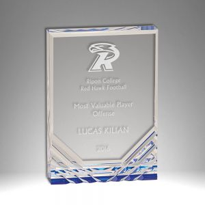 "4.25"" X 6"" Jewel Self Standing Acrylic Award"