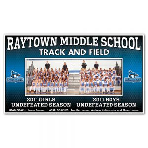 4' X 7' Team Picture Banner