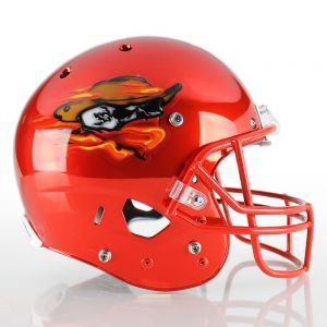 Dimensional Football Helmet Decals