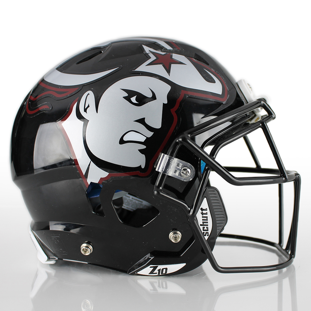 Half Helmet Decals