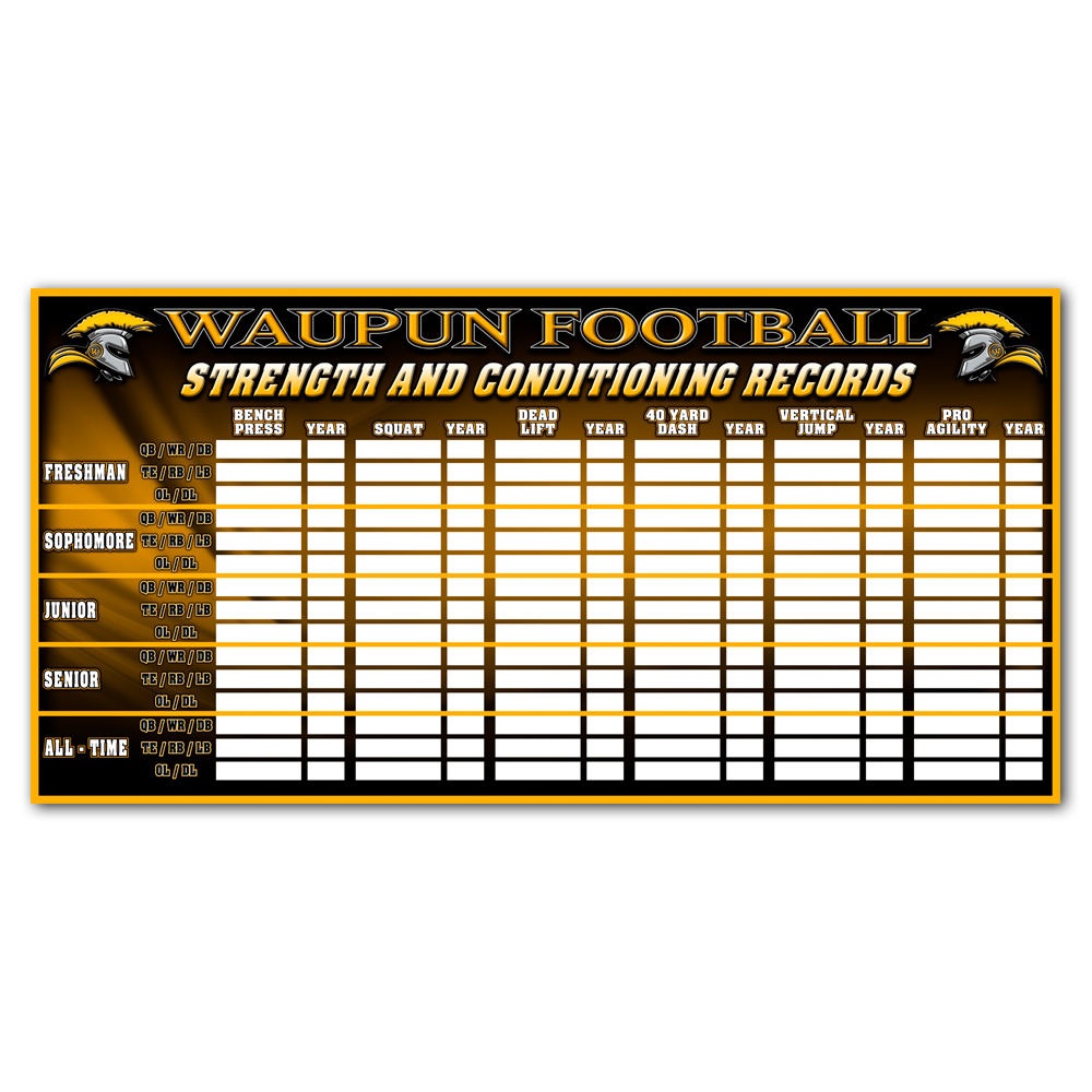 Strength & Conditioning Boards