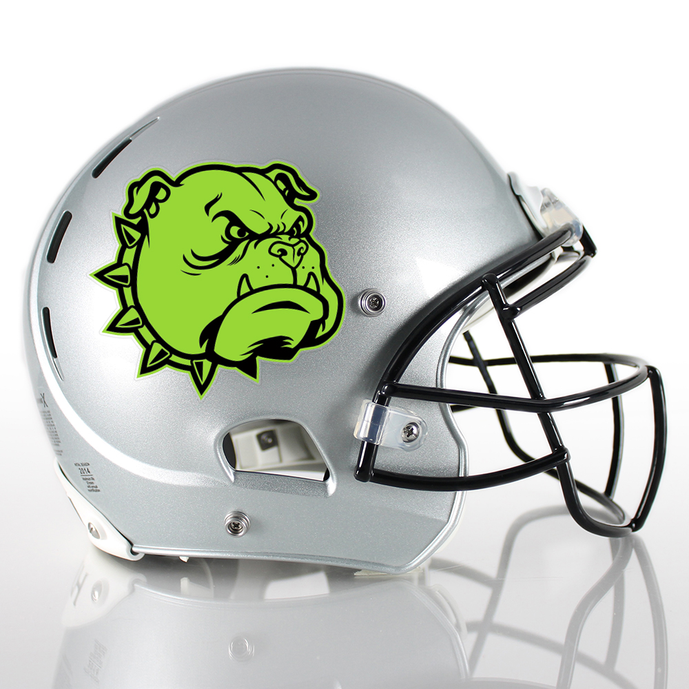 Healy Design Football Helmet Decals